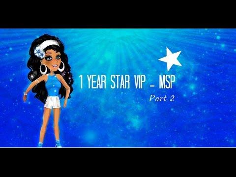 1 year star vip - Msp - part 2 - YouTube