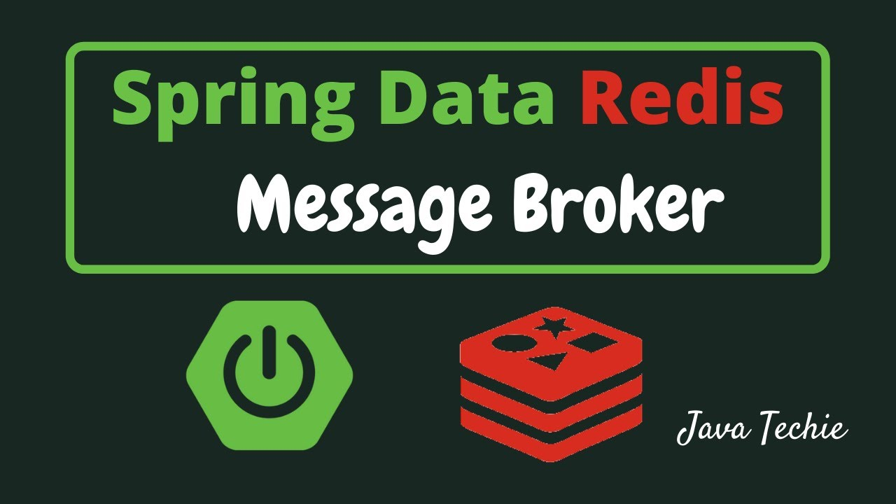 Spring Boot | Spring Data Redis Messaging - PubSub example | JavaTechie