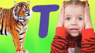 ABC Alphabet Phonics Song   Nicole Nursery Rhymes & Kids Songs