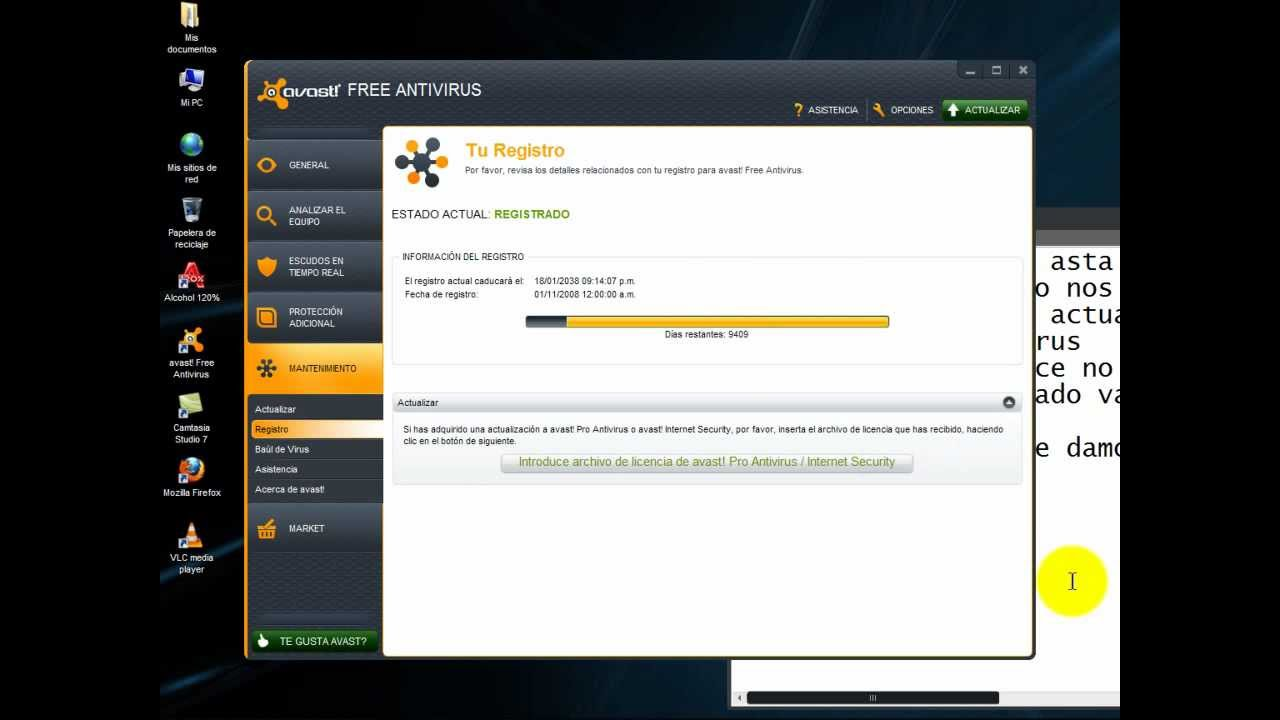 como actualizar mi avast free antivirus gratis
