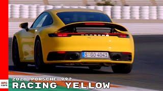 2020 Porsche 992 911 In Racing Yellow