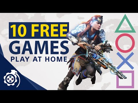 10 FREE PlayStation Games! Play At Home 2021