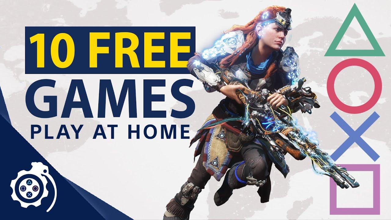10 FREE PlayStation Games! Play At Home 2021