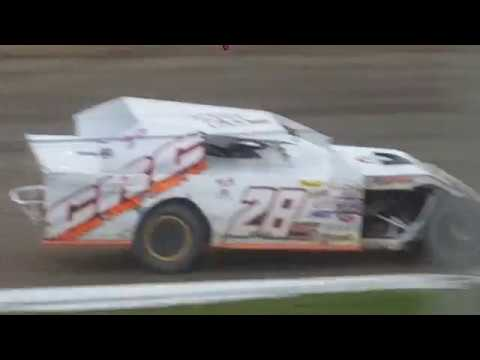 Spencer Stock 28s Deer Creek Speedway Midwest Modified Feature 8/26/17