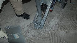 Removing thinset for tile the easy way - Summerfield FL