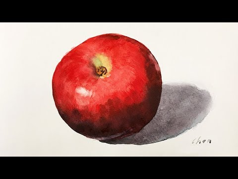 Watercolor painting of a Red Apple for beginners: https://www.patreon.com/yongchen  Use above link to learn about how to get feedback and suggestions from Yong Chen.  This is part of the monthly critiques for my gold members of my enjoyingart learning community. Please come to join us, and let me know how I may help you to make the art learning experience more fun, relaxing, and enjoyable.  To view the watercolor materials that I used in the lesson: Visit my suggestions for materials at: http://enjoyingart.com/materials.php  ================================= SOCIALS  Instagram - yongchen8 Facebook - https://www.facebook.com/yongchen8 Twitter - https://twitter.com/yongchen1 http://yongchen.com http://enjoyingart.com  ================================= MUSIC  Music in this video by Kevin MacLeod is licensed under a Creative Commons Attribution license (https://creativecommons.org/licenses/by/4.0/) Source: http://incompetech.com/music/royalty-free/index.html?isrc=USUAN1200096 Artist: http://incompetech.com/ =================================