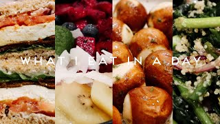 WHAT I EAT IN A WEEK VEGAN | Garlic Bread Pretzel Knots, Breakfast Sandwich & Salad #014