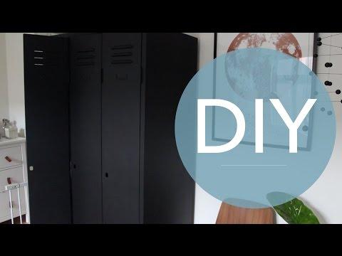 DIY - Metalskabs Makeover - Guide til renovering - Genbrug