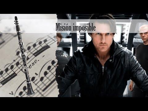 Partitura Misión imposible Clarinete Soprano