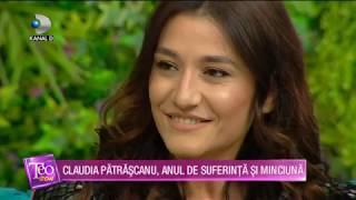 Teo Show (06.01.2020) - Claudia Patrascanu, anul de suferinta si minciuna! Cum a trecut peste?