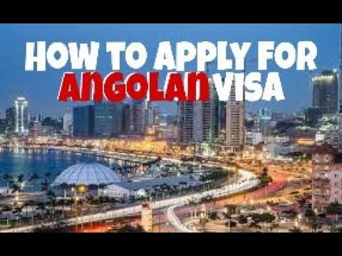 How To Apply For Angolan Visa / ANGOLAN E-VISA #youtubersangolanos