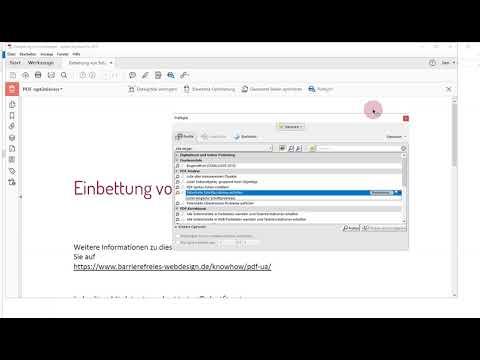"""PAC 3-Fehler """"Schrift Ist Nicht Eingebettet"""" In Adobe Acrobat Korrigieren"""