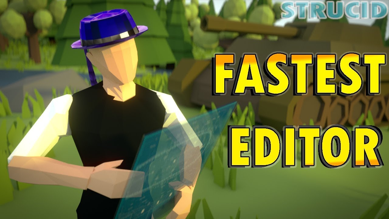 How To Edit Like Zaddy in Strucid! | Fastest Editor on ...