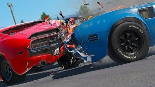 Car Races and CRUSHES in Furious Car Driving