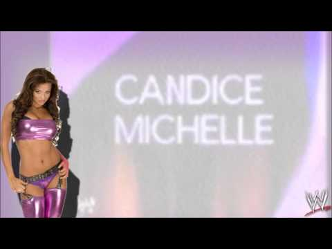 """WWE:Candice Michelle 3rd Theme Song """"What Love Is"""""""
