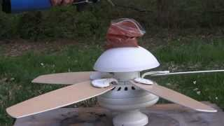 Ceiling Fan Destruction 2