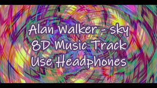 Alan Walker - Sky 8D Music Track