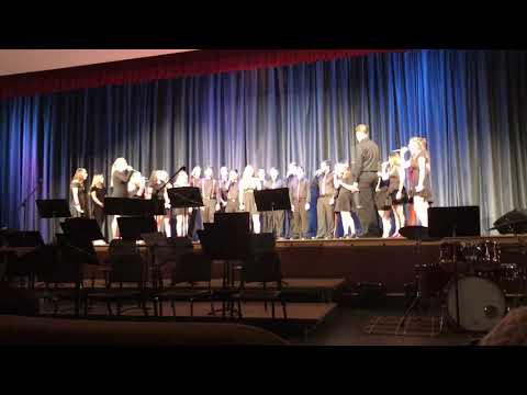 2019 Winter Jazz Night - Connetquot High School Seventh Street Singers - La La La