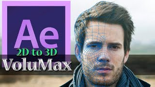 2D to 3D Animation in After Effects - After Effects Tutorial - VoluMax Pro V4.3