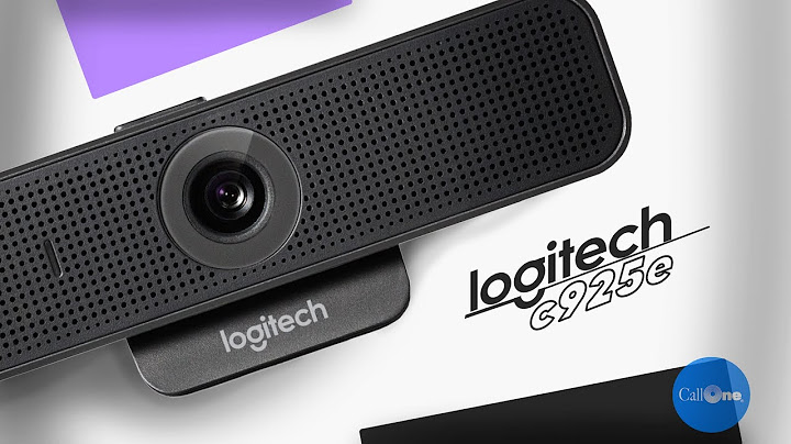 logitech c925e webcam overview  video and audio tests