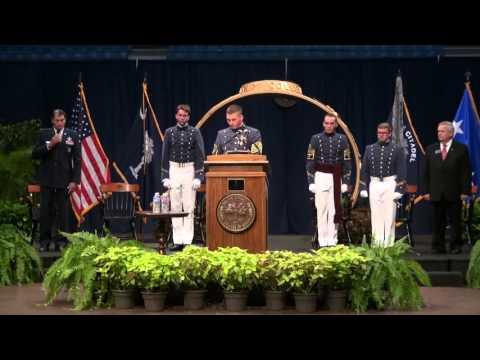 The Citadel 2015 Ring Presentation