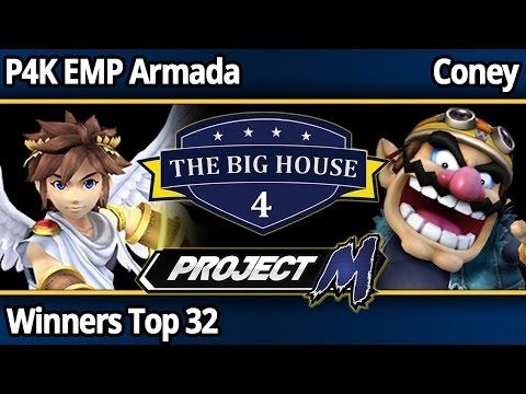 TBH4 PM - P4K EMP Armada (Pit) vs Coney (Wario) - Top 32 Winners