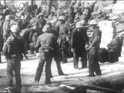 WWII BATTLEGROUND  Marshall Islands Campaign Nov  1943   Feb  1944 720p