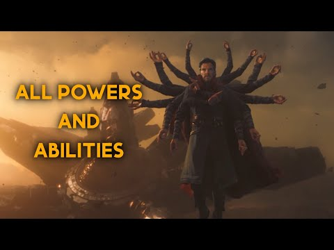 Doctor Strange - All Powers and Abilities from the MCU