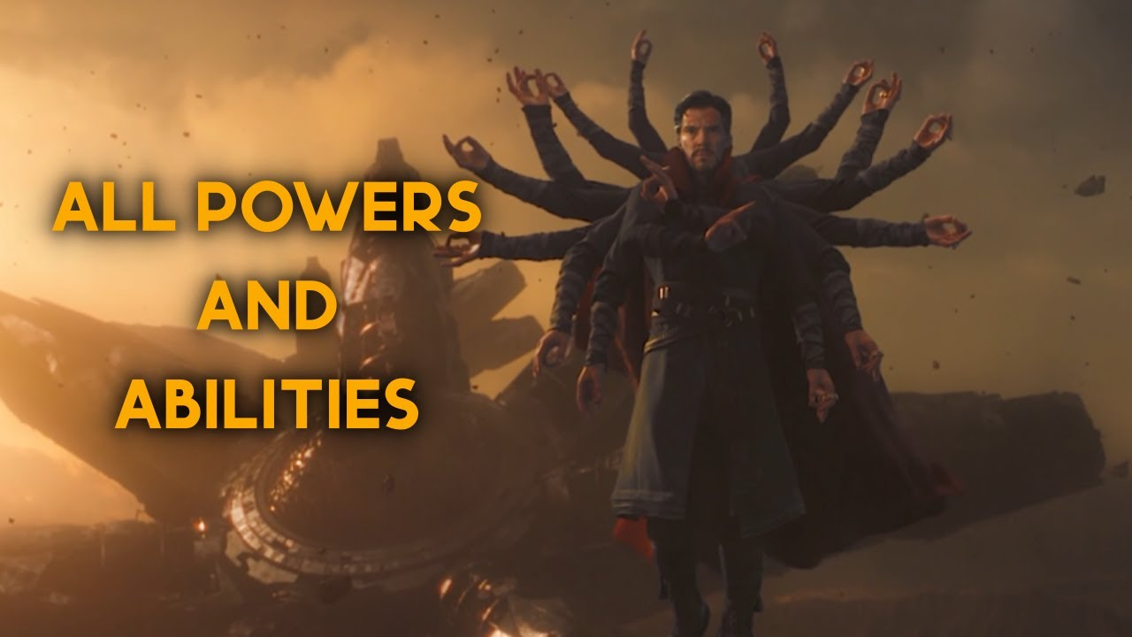 Download Doctor Strange - All Powers and Abilities from the MCU