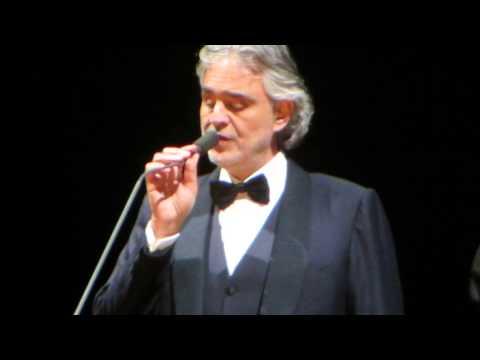 Andrea Bocelli - Love me tender. December 17, 2014