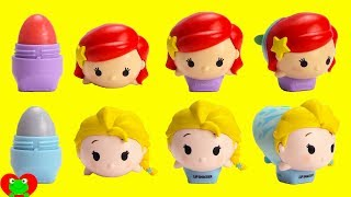 Disney Princess Ariel Elsa Tsum Tsum Lip Smackers and Surprises