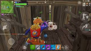 Fortnite Mobile Beef Boss 15 Kill Game Play