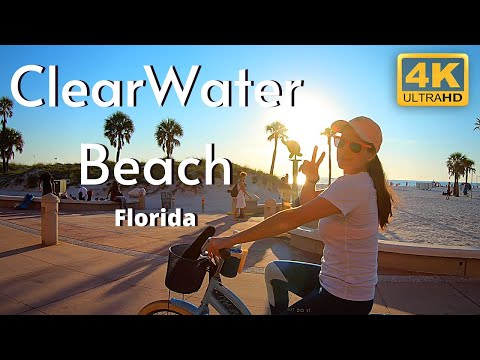 Clearwater Beach Florida 4k