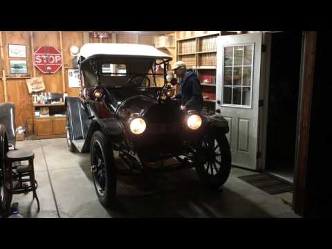 Acetylene Gas Lights in a 1914 Chevrolet