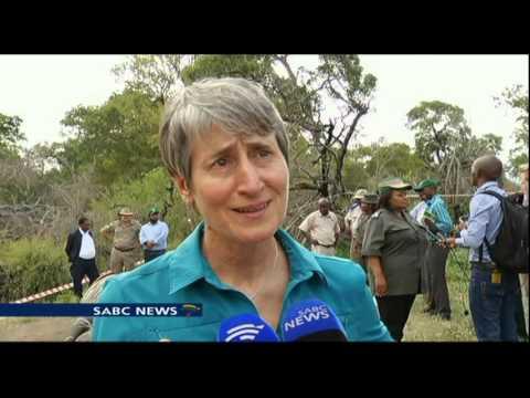 US' Sally Jewell meets SA's Edna Molewa