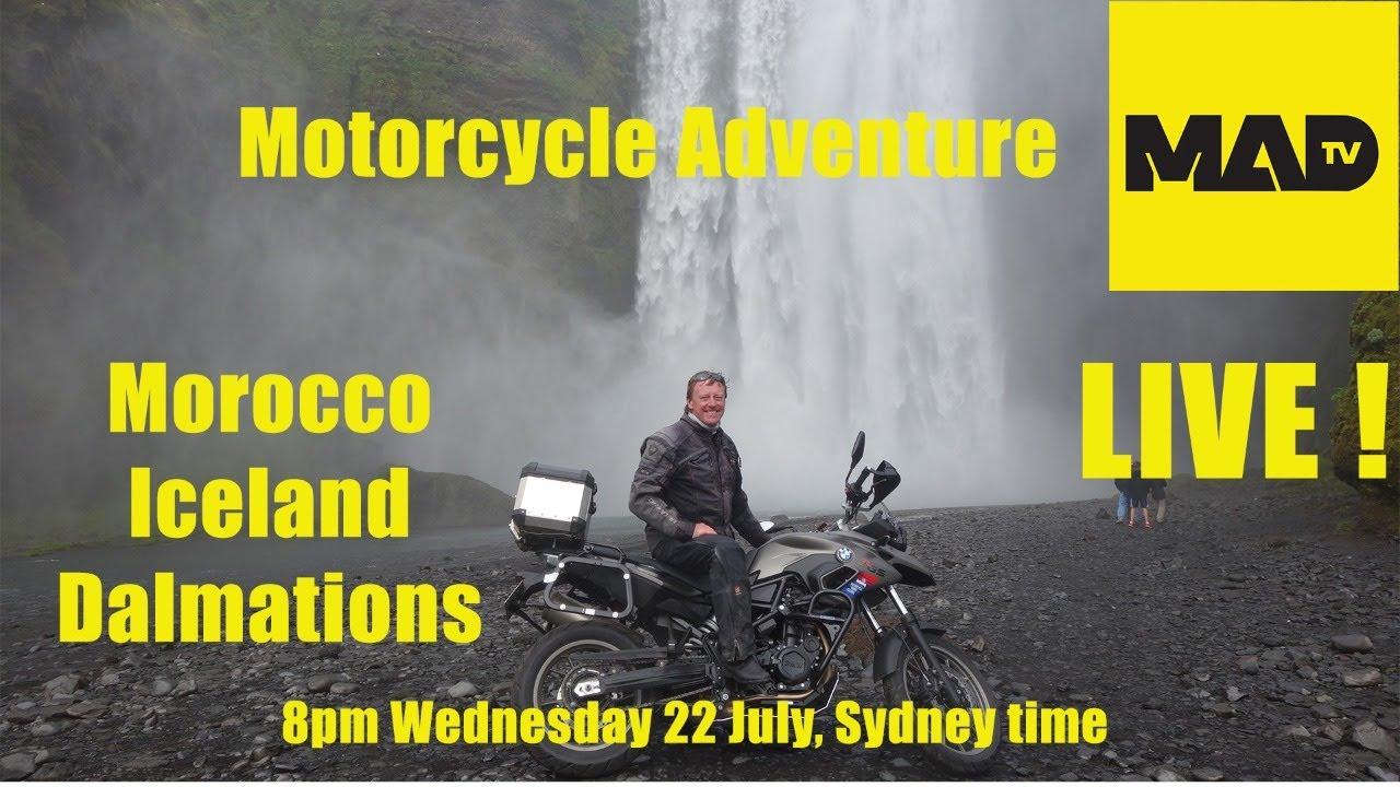 Motorcycle Adventure Dirtbike TV - Morocco - Iceland - Dalmatians