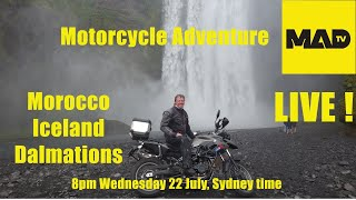 Motorcycle Adventure Dirtbike TV - Morocco - Iceland - Dalmatians