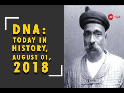 DNA: Today in History, August 01, 2018