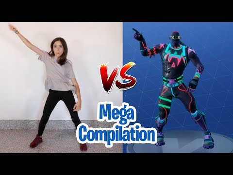 FORTNITE DANCE CHALLENGE - MEGA COMPILATION (In Real Life)
