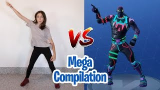 FORTNITE DANCE CHALLENGE - MEGA COMPILATION (In Real Life)