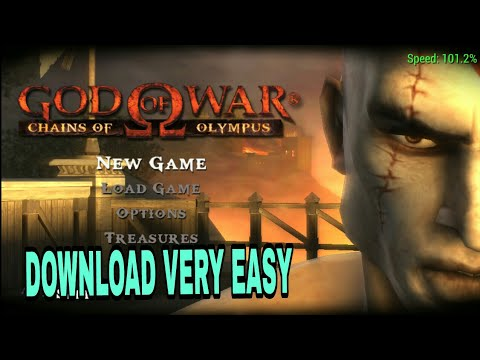 How To Download GOD OF WAR Chains Of Olympus Game For android - 동영상