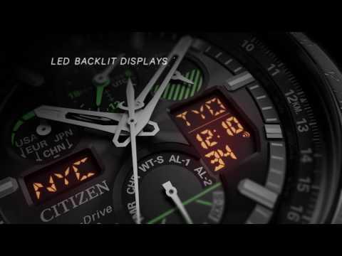 85896294d Citizen Skyhawk Generation 4 Eco-Drive RC Watch - YouTube