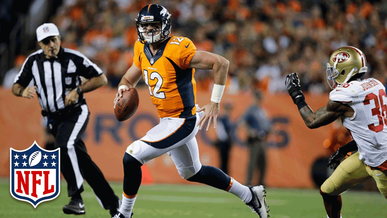 Paxton Lynch out at least first 2 games of season; Kyle Sloter to start Broncos' preseason finale
