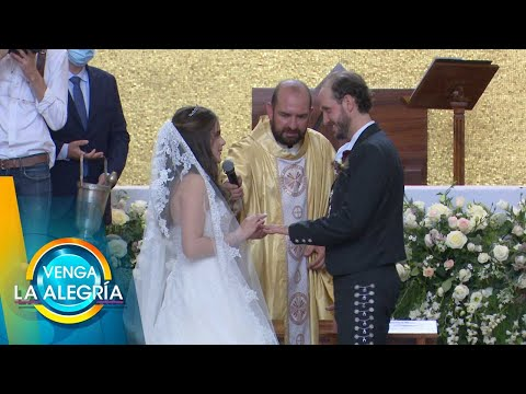 ¡Camila Fernández, hija de Alejandro Fernández, se casó este fin de semana! | Venga La Alegría