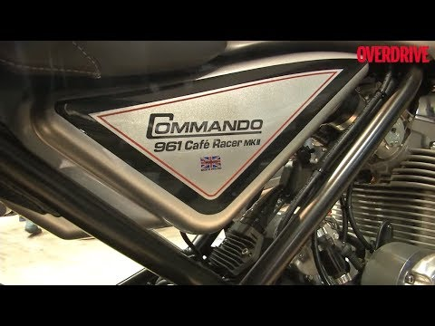 Norton Commando Cafe Racer | First Look | EICMA 2017 | OVERDRIVE