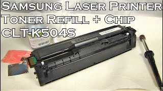 How To Refill Samsung Laser Pr…