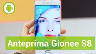 gionee S8, anteprima in italiano MWC 2016