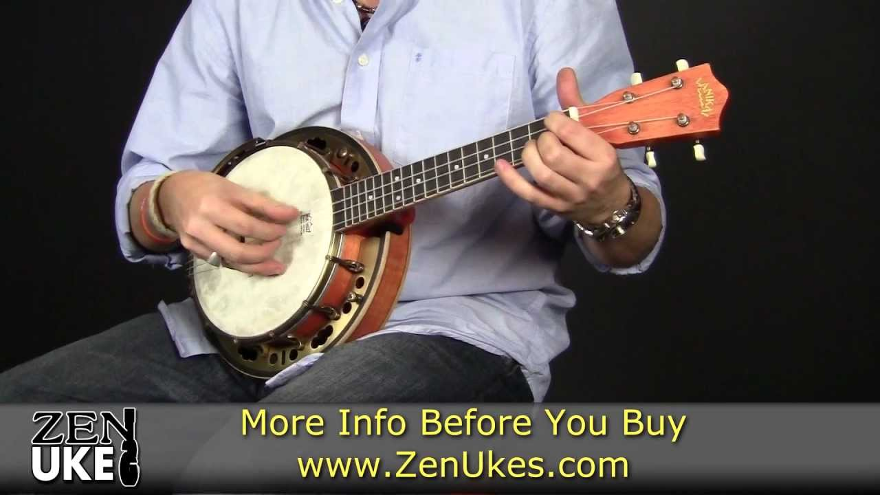 Lanikai Lbu C Banjolele At Zenukescom Youtube