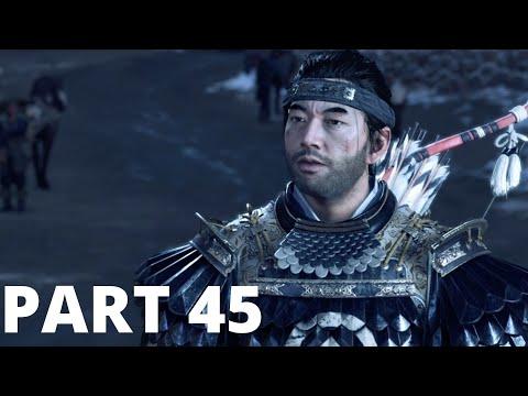 Ghost of Tsushima Gameplay Walkthrough Part 45 – WOLVES AT THE GATES