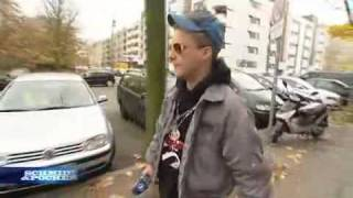 Straßen Cobra Oliver Pocher Freestyle-Rap in Kreuzberg.avi